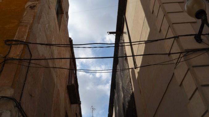 cableado aéreo