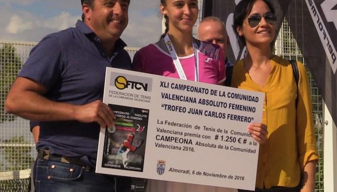 Eva Martínez Campeonato Tenis CV Almoradí