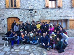El IES Vega Baja participa en Aragón en un programa para recuperar pueblos abandonados