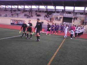 El Torrevieja vuelve a vencer, esta vez en casa, al Buñol (2-0)