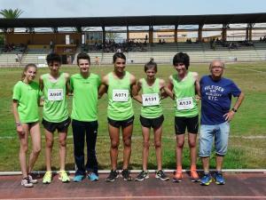 El Club Atletismo de Dolores consigue buenos resultados en el Campeonato Provincial Cadete