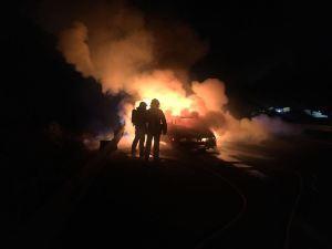 Sin heridos al producirse el incendio de un vehículo en marcha en Dolores