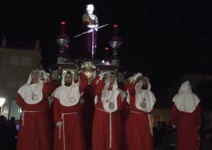 La Flagelación y el Ecce-Homo emocionan en el Lunes Santo de Rojales
