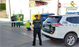 Detenido un hombre de 57 años por quemar 21 contenedores en Almoradí