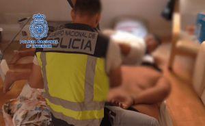 La Policía Nacional desarticula en Almoradí un laboratorio clandestino con capacidad para producir 600 kilogramos de cocaína al mes