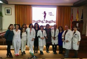 El Departamento de Salud de Orihuela conmemora el Día Internacional de la Violencia de Género con el acto 'Rompe las cadenas de la violencia'