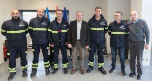 El Consorcio Provincial de Bomberos incorpora la figura de sargento al parque de Almoradí