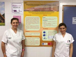 Enfermeras del Hospital Vega Baja premiadas en las III Jornadas Nacionales de Psicología Hospitalaria