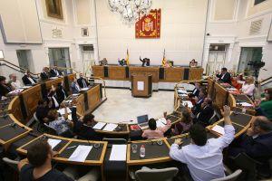 La Diputación aprueba por unanimidad que las Cortes y el Congreso investigue la gestión de la CHS en la DANA
