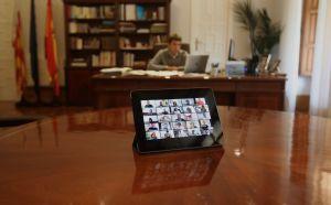 La Diputación aprueba en un pleno online 3 millones de euros en ayudas urgentes a ayuntamientos por el coronavirus
