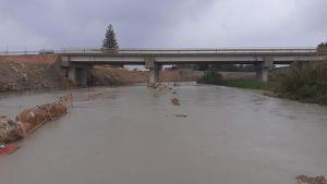 El temporal de Levante deja importantes lluvias y algunos accesos cortados en la Vega Baja