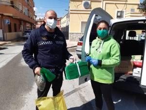 Bigastro se suma a la acción solidaria contra el Coronavirus