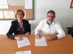 El IES Tháder y el Conservatorio de Orihuela firman un acuerdo de coordinación horaria
