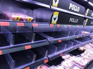 Las compras masivas vacían supermercados por el miedo al Coronavirus