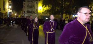 El traslado de Nuestro Padre Jesús da inicio a la Cuaresma en Orihuela