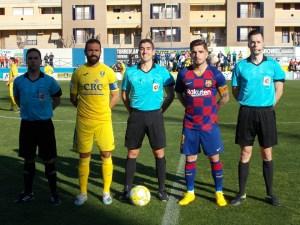 Orihuela CF y FC Barcelona B empatan en Los Arcos (0-0)