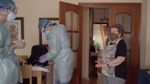 El Hospital de Torrevieja aumenta un 45% la hospitalización domiciliaria por el Covid-19