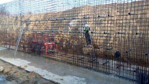 La CHS prevé que culminará la reparación de la mota del río en Almoradí a finales de abril