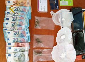 La Guardia Civil detiene a un vecino de Albatera por venta de drogas en Fortuna
