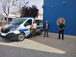 La Policía Local amplía su parque móvil con un nuevo furgón de atestados