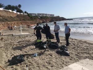 Limpieza Viaria y RSU contrata a 39 nuevos trabajadores para realizar servicios de limpieza y desinfección en Orihuela Costa
