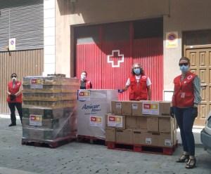 TM dona 30.000 kg de alimentos a diferentes ayuntamientos y entidades sociales de la Comunidad Valenciana, Murcia, Andalucía y Baleares