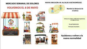 Este viernes Dolores pone en marcha su mercado semanal