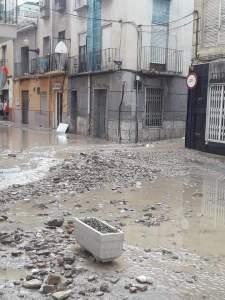Las tormentas y el granizo llegan a la Vega Baja