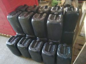 La Policía Local de Guardamar incauta un vehículo con 6.000 litros de gasolina