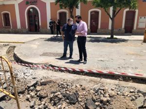 Callosa solicita al Gobierno de España la reparación de la red de alcantarillado y dota de una solución provisional a la zona