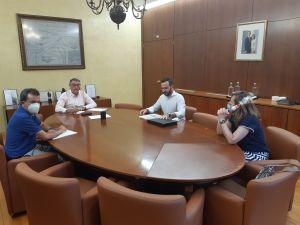 Los cauces y ramblas de Callosa de Segura afectados por la DANA tema destacado de la reunión entre Ayuntamiento y CHS
