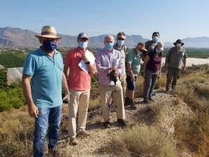 Patrimonio Histórico inicia los trabajos previos a la excavación del Yacimiento de Los Saladares