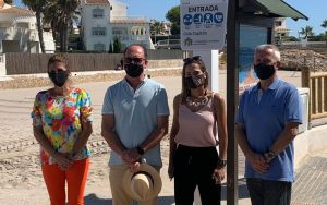 Bascuñana se une a la petición para considerar el aeropuerto de Alicante como corredor aéreo seguro