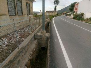 El PSOE reclama el arreglo de arcenes de la carretera de Hurchillo