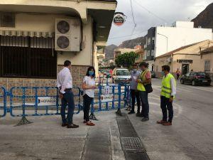 El Ayuntamiento de Redován e Hidraqua avanzan en las obras de mejora de la red de abastecimiento de agua