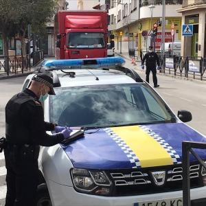 La Policía Local de Callosa interpone 22 denuncias por no hacer uso de la mascarilla