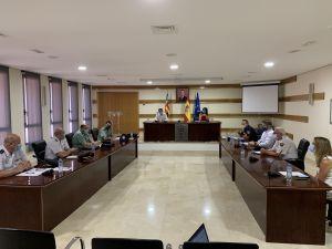 Redován pide más presencia de la Guardia Civil en el municipio en la reunión de la Junta Local de Seguridad
