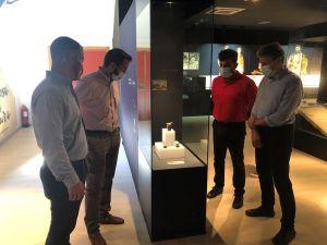El MARQ reúne por primera vez en Callosa de Segura la colección de Toros del Argar hallados en Laderas del Castillo