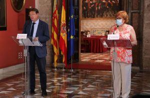 Ximo Puig anuncia la solicitud de 150 rastreadores del Ejército para intensificar la detección precoz del coronavirus en la Comunidad Valenciana
