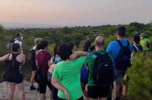 Una treintena de personas participa en la segunda ruta ecoturística de San Fulgencio