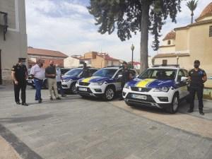 La Policía Local incorpora 8 nuevos vehículos y cuatro motocicletas a su parque móvil