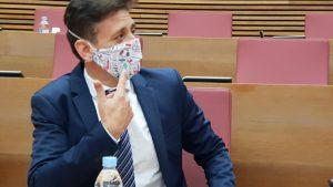 "J. J. Zaplana: ""Puig navega sin rumbo frente al Covid, arrastrando a la Comunitat Valenciana"""