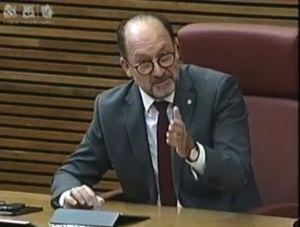 Bascuñana reclama en las Cortes Valencianas las ayudas e infraestructuras hidráulicas para evitar otra DANA