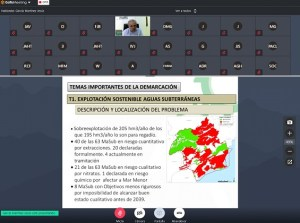 La CHS ha inaugurado la Mesa Territorial de la Vega Baja de la cuenca del Segura