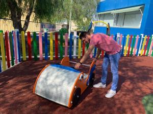 El Ayuntamiento de Rojales invierte 44.199 euros en la mejora de cuatro parques infantiles