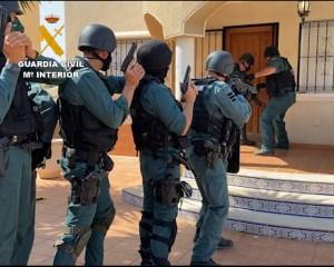 Detienen en la Vega Baja a 12 traficantes que cultivaban marihuana en chalés ocupados