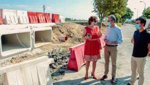 Obras Públicas finaliza la primera fase de las obras de drenaje y mejora de la CV-95 frente a futuras inundaciones