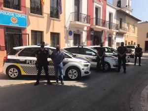 Tres nuevos vehículos para la Policía Local de San Fulgencio