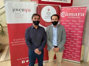 El Vivero de Empresas de Cámara Orihuela acoge el programa gratuito para emprendedores de Jovempa
