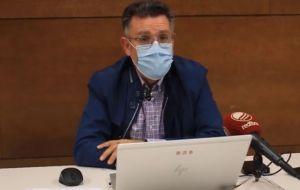 Rafal toma nuevas medidas tras superar los 500 casos de Covid-19 por cada 100.000 habitantes